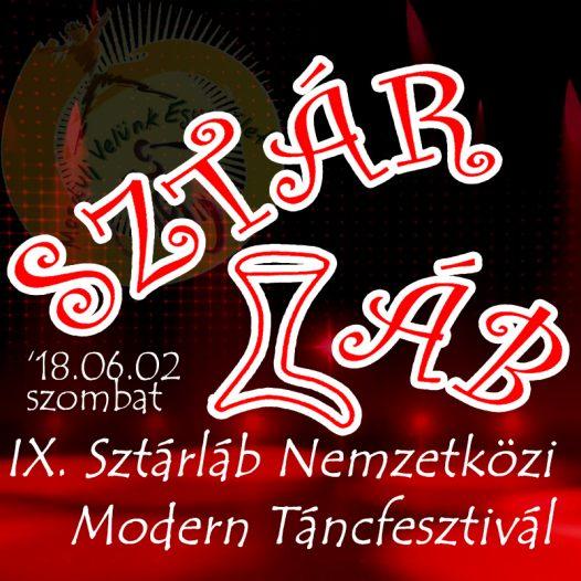 IX. Sztárláb Nemzetközi Modern Táncfesztivál